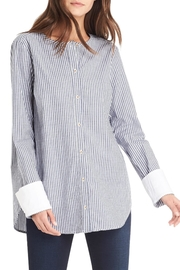 Michael Stars Button Up Top - Back cropped