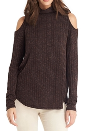 Michael Stars Shelley Cold Shoulder Top - Product Mini Image