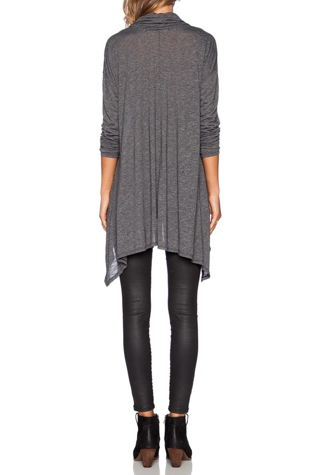 Michael Stars Cowl Neck Poncho - Side Cropped Image