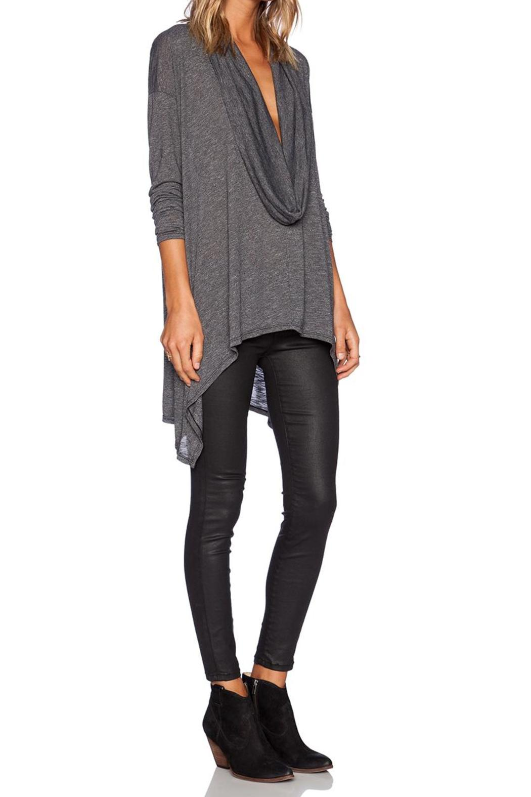 Michael Stars Cowl Neck Poncho - Front Full Image