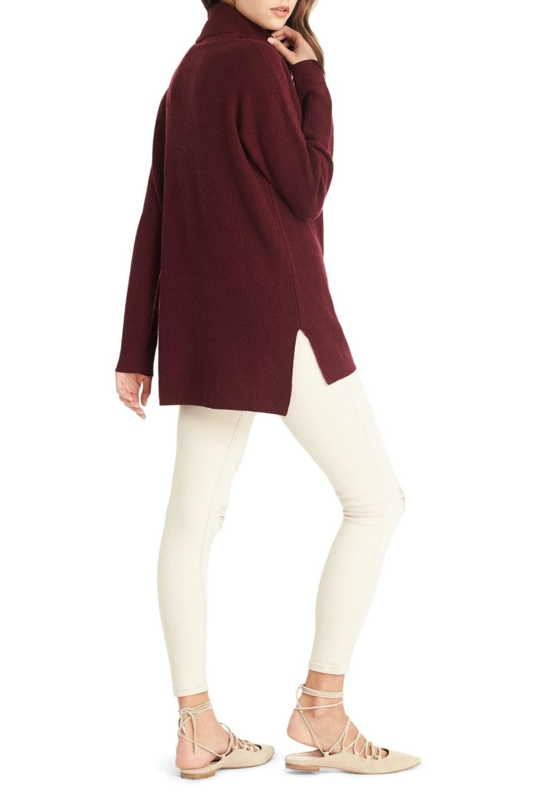 Michael Stars Cowl Neck Sweater - Front Full Image