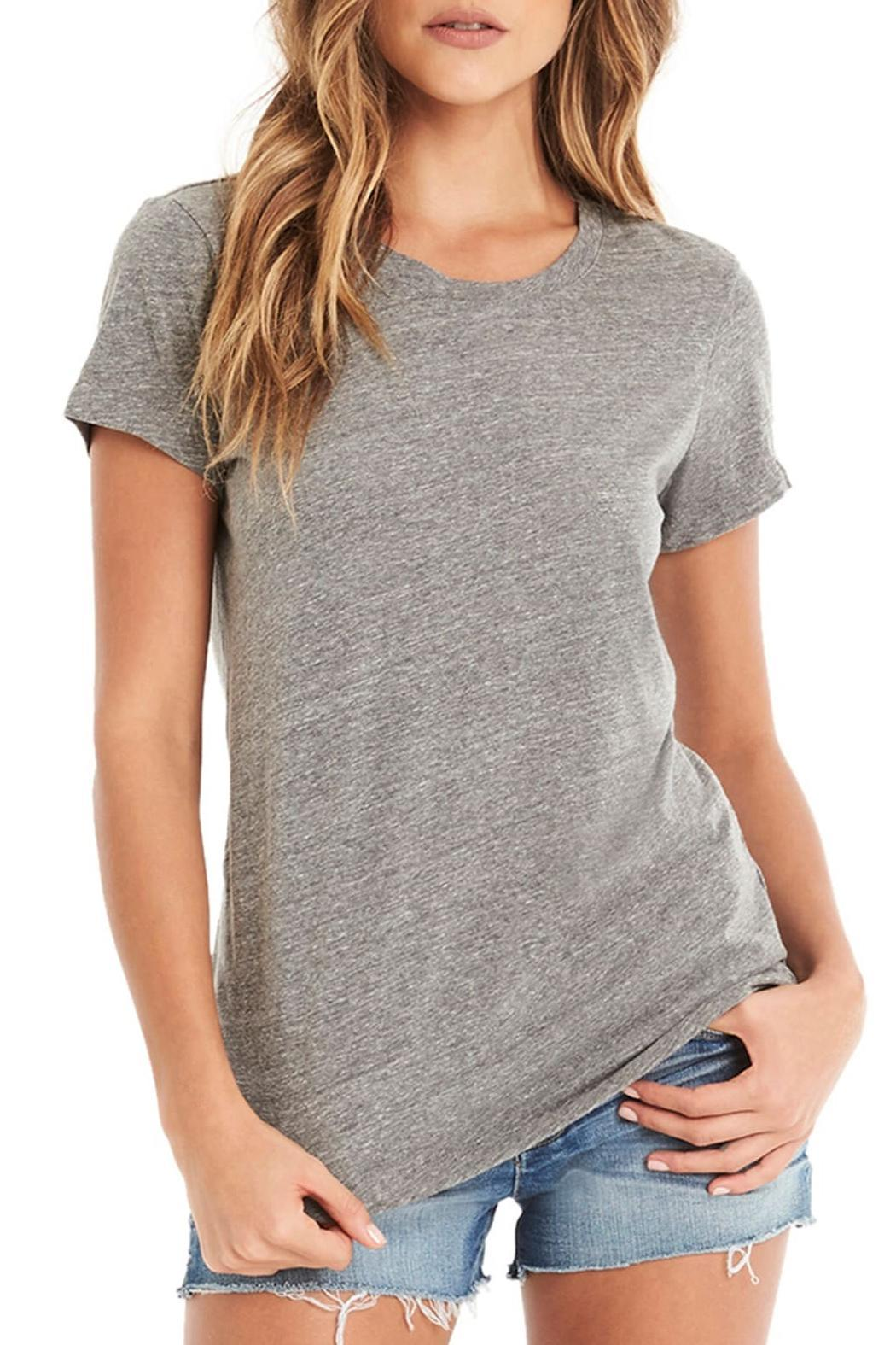 Michael Stars Crew Neck Tee - Front Cropped Image