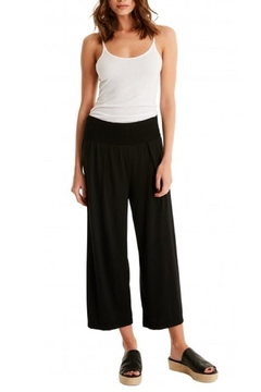 Michael Stars Cropped Elastic Culottes - Product List Image