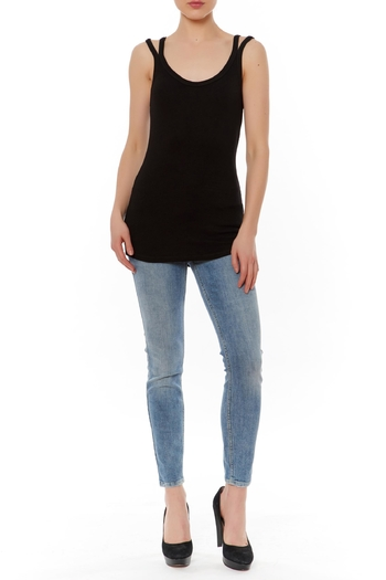 Shoptiques Product: Double Strap Tank - main