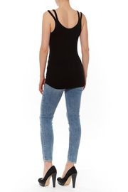 Shoptiques Product: Double Strap Tank - Front full body