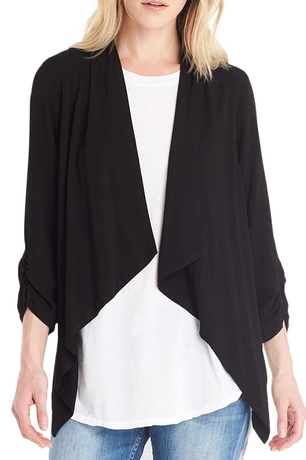 drape soft web image clara front cardigan from l sunwoo s drapes by blue products charlotte new jersey cropped