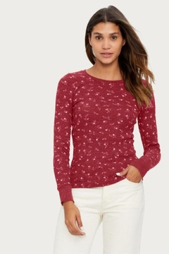 Michael Stars Floral Painted Thermal - Alternate List Image
