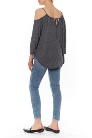 Michael Stars Cold Shoulder Tee - Front full body