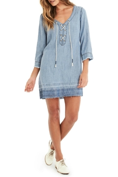 Michael Stars Lace Up Dress - Product List Image