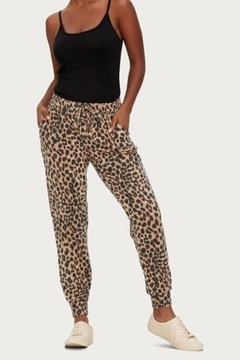 Michael Stars Leopard Sweatpants - Alternate List Image