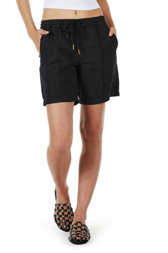 Michael Stars Linen Bermuda Shorts - Product List Image