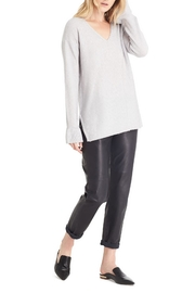 Michael Stars Gray Loose Sweater - Front cropped