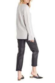 Michael Stars Gray Loose Sweater - Front full body