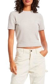 Michael Stars Mila Cropped Tee - Product Mini Image