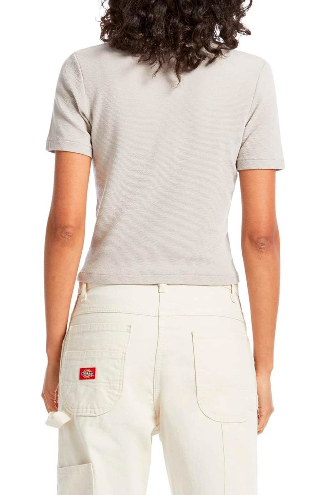 Michael Stars Mila Cropped Tee - Side Cropped Image
