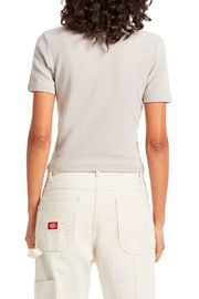 Michael Stars Mila Cropped Tee - Side cropped