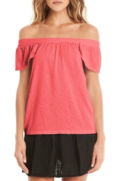 Michael Stars Coral Off-Shoulder Top - Product List Image