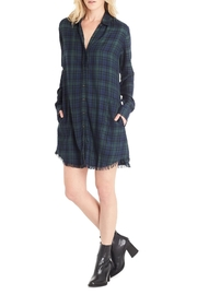 Michael Stars Kelsey Plaid Shirt Dress - Product Mini Image