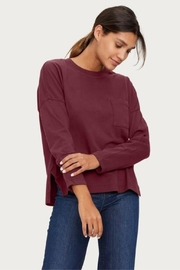 Michael Stars Redwood Pocket Tee - Front cropped