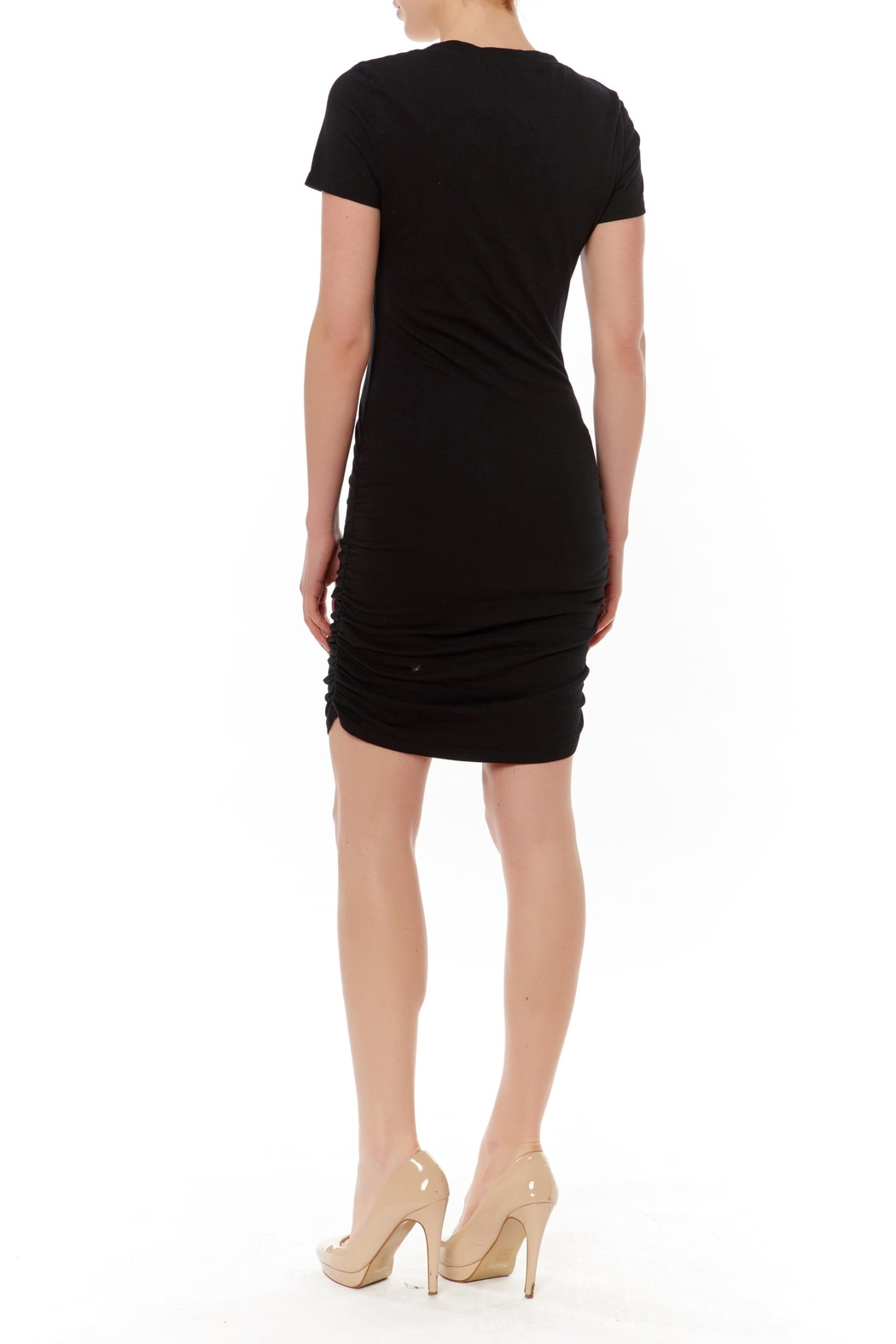 Ruched Side Mini Dress