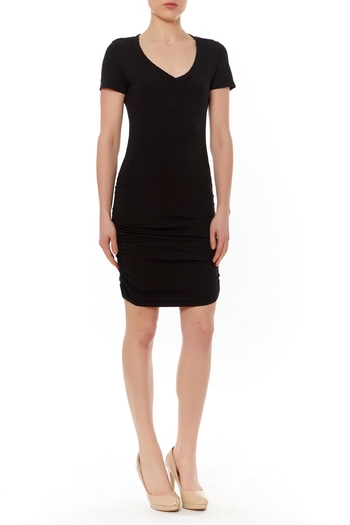 Shoptiques Product: Ruched Side Mini Dress - main