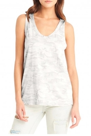 Michael Stars Scoop Camo Tank - Front cropped