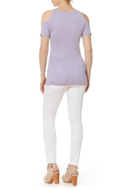 Michael Stars Shine Cold Shoulder Top - Front full body