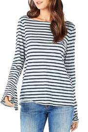 Michael Stars Stripe Bellsleeve Tee - Product Mini Image