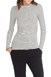 Michael Stars Stripe Mock Top - Product Mini Image