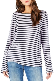 Michael Stars Striped Bell Sleeve - Product Mini Image