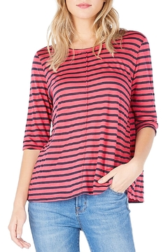 Shoptiques Product: Striped Swing Tee