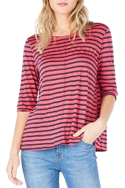 Michael Stars Striped Swing Tee - Product Mini Image