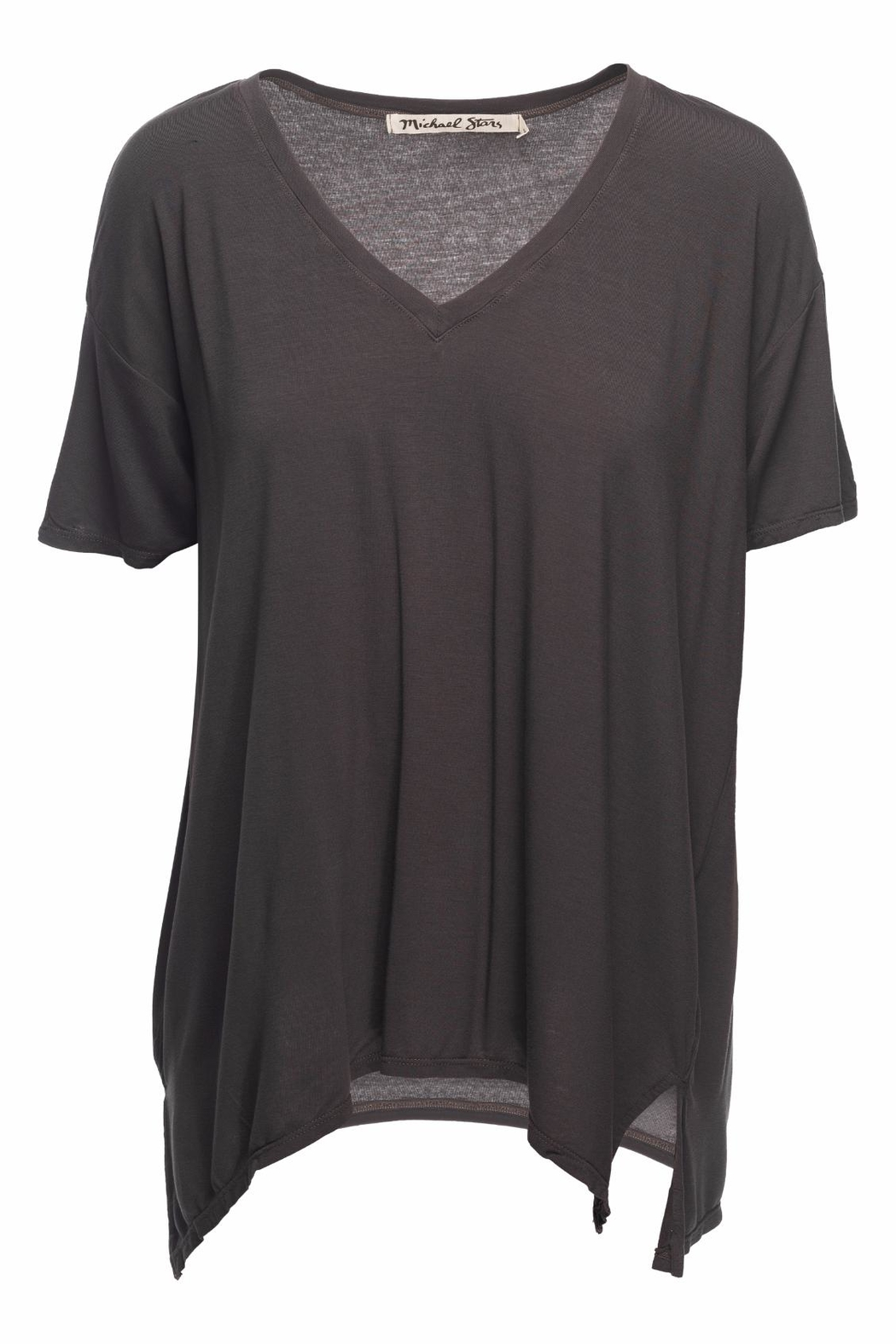 Michael Stars Layla Basic Top - Front Cropped Image