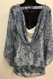 Michael Tyler Collections Bell Sleeve Blouse - Front full body