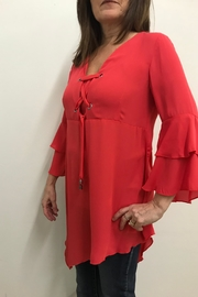 Michael Tyler Collections Bell Sleeve Tunic - Product Mini Image