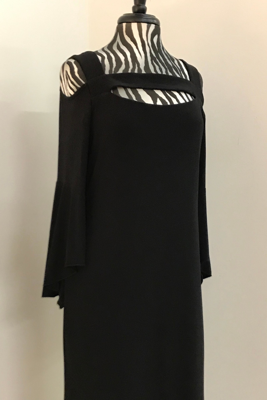 Michael Tyler Collections Black Beauty Dress - Front Full Image