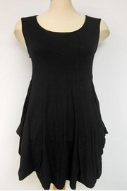 Michael Tyler Collections Black Sleeveless Tunic - Product Mini Image