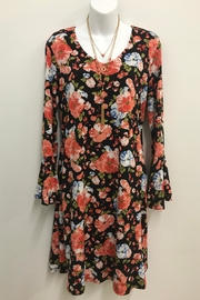 Michael Tyler Collections Floral Print Dress - Product Mini Image