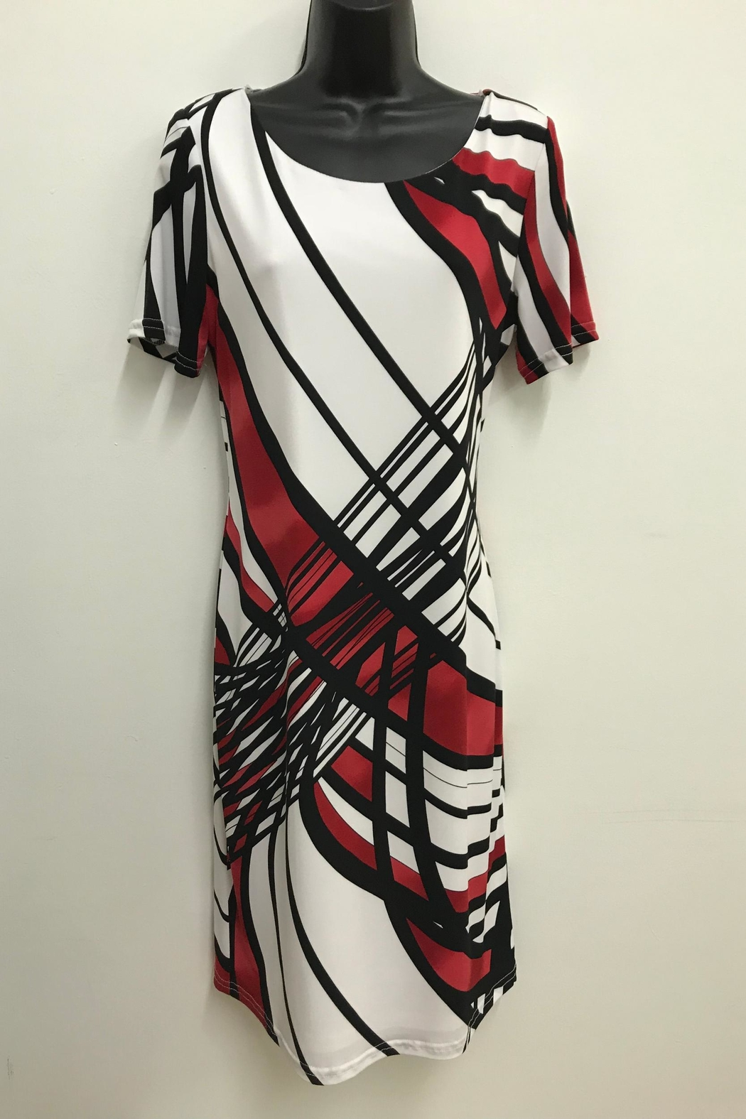 Michael Tyler Collections Graphic Print Dress - Main Image