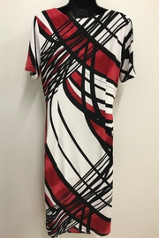 Michael Tyler Collections Graphic Print Dress - Front full body