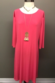 Michael Tyler Collections Power Pink Dress - Product Mini Image