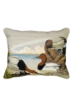 Shoptiques Product: Canvasback Needlepoint Pillow