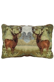 Michaelian Home Deer Needlepoint Pillow - Product Mini Image