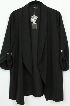 MICHEL 3/4 Sleeve Open Blazer - Alternate List Image