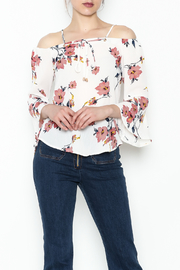 MICHEL Bell Sleeve Top - Product Mini Image