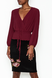 MICHEL Corset Top - Front cropped