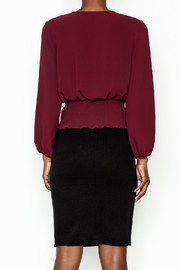MICHEL Corset Top - Back cropped
