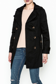 MICHEL Double Breasted Trench - Front cropped
