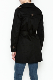 MICHEL Double Breasted Trench - Back cropped