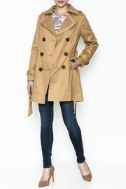 MICHEL Double Breasted Trench - Side cropped
